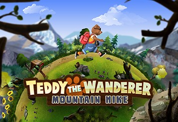 Teddy The Wanderer - Mountain Hike2