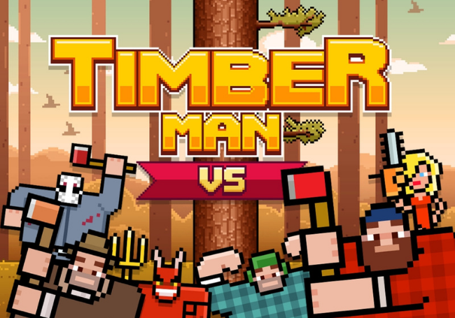 Timberman VS for PlayStation 4
